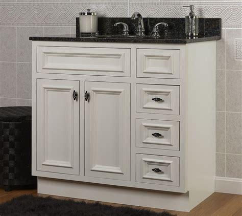 Buy Bathroom Vanity Doors by Jsi Danbury White Bathroom Vanity Base 36 Quot Solid Wood