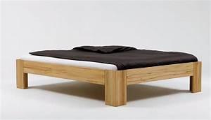 Massivholz Betten 180x200 : massivholzbett m20 kernbuche massivholzbetten betten ~ Markanthonyermac.com Haus und Dekorationen