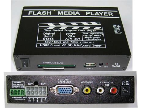 Advertising Media Player Box
