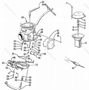 Arctic Cat Atv 2001 Oem Parts Diagram For Carburetor  400 Cc