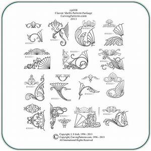 Classic, Shell, Collection, U2013, Classic, Carving, Patterns