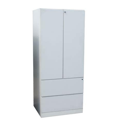 "715"" White Knoll Armoire Storage Cabinet Ebay"