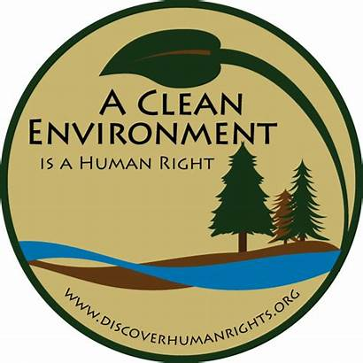 Environment Clean Right Environmental Human Rights Graphic