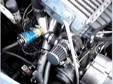 2CV TURBO INTERCOOLER TESTRUNwmv YouTube