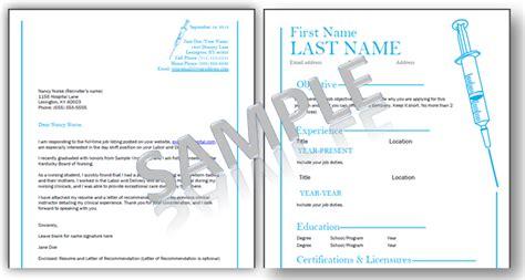 nursing resume templates    job guide  nurses