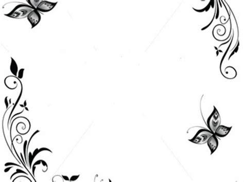 butterfly border black and white border design black and white butterfly