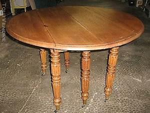 Table Ronde En Chene : table ronde 6 pieds clasf ~ Teatrodelosmanantiales.com Idées de Décoration