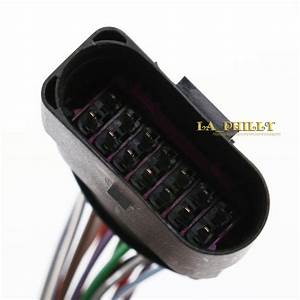 14 Pin Connector Plug Pigtail Harness For Vw Audi Skoda