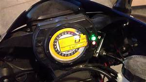 Simple  How To Pull The Diagnostic Codes Kawasaki Zx6r