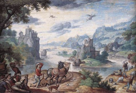 Filebol, Hans  Landscape With The Fall Of Icarusjpg