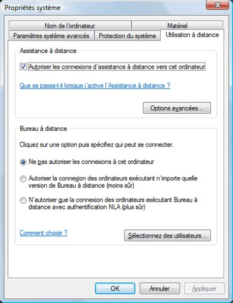 windows 7 bureau à distance console bureau distance windows 7