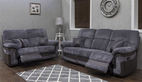 sofa house halifax herringbone sahara fabric recliner
