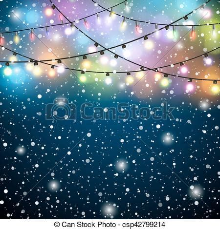 glowing lights colorful fairy lights background