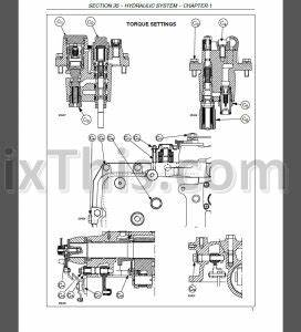 New Holland T1510 T1520 Repair Manual  Tractor   U00ab Youfixthis