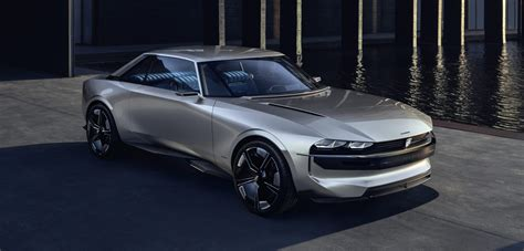 Peugeot Electric Car by Peugeot Unveils All Electric Coupe Concept With Some