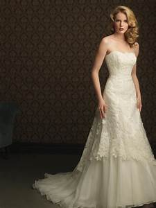 ivory lace applique beaded formal unique wedding dresses With ivory lace wedding dress