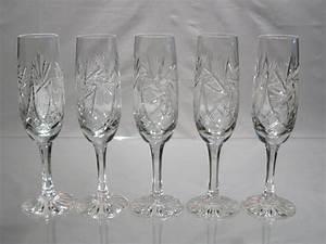 Flute A Champagne : fl tes champagne en cristal de boh me ~ Teatrodelosmanantiales.com Idées de Décoration
