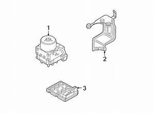 2001 Audi Tt Abs Control Module Bracket  Abs Hydraulic