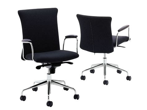 height adjustable task chair with 5 spoke base with