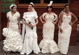 12th annual toilet paper wedding dress contest photos With toilet paper wedding dress