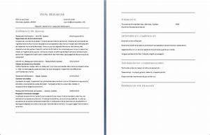 C V d un employé de Restaurant McDonald s Exemple de CV info
