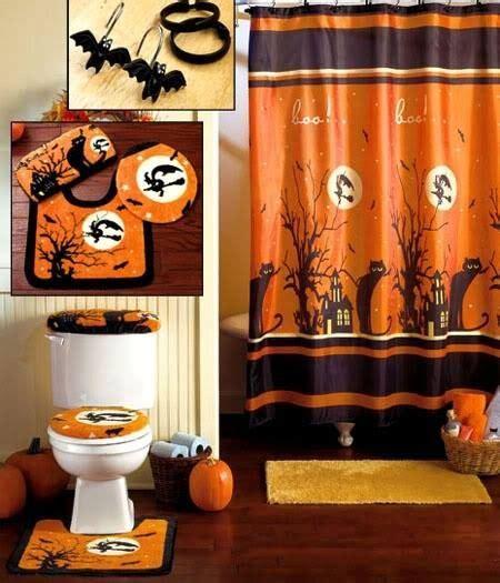 Bathroom Halloween Decor