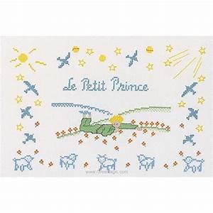 la broderie tableautin le petit prince princesse With affiche chambre bébé avec tapis de fleurs pour le dos avis