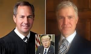 Trump's Supreme Court pick down to Gorsuch and Hardiman ...