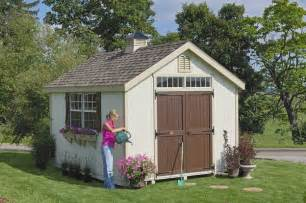 Colonial Williamsburg Outdoor Garden Wooden Shed Kit