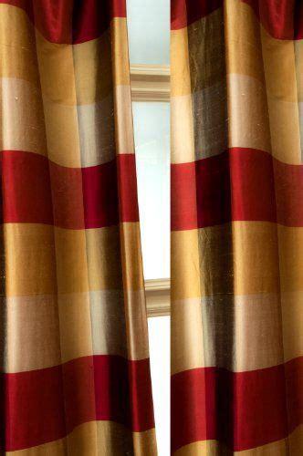 Silk Plaid Drapes - silk dupioni buffalo checks plaid curtain playroom