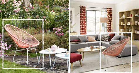 du mobilier exterieur de jardin pour linterieur  idees tendance