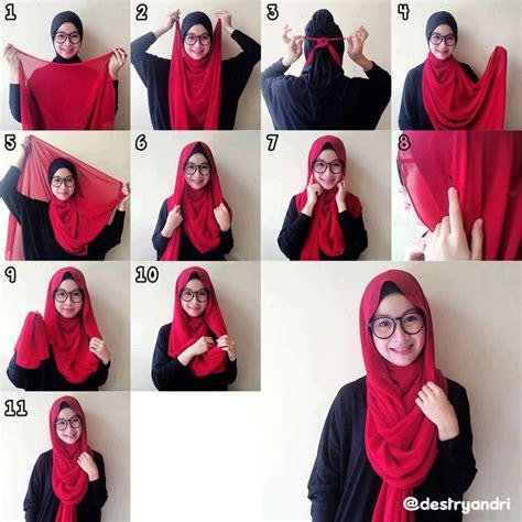hijab styles step  step style arena