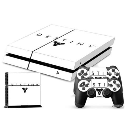 Destiny Ps4 Console by Ps4 Playstation 4 Console Skin Decal Sicker Destiny 2