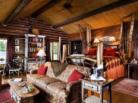 vacation idea cozy   log cabins  arent rustic