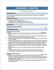 accounts payable manager resume accounts payable supervisor resume free layout format