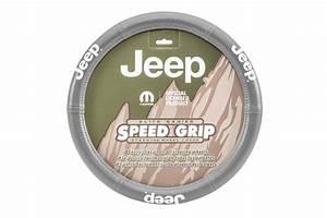 Plasticolor Elite Series Jeep Logo Steering Wheel Cover