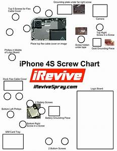 iphone 4s screw chart With iphone 4 screw template