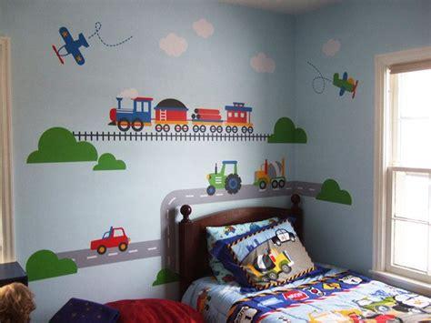 Inspirational Toddler Train Bedroom Ideas  Toddler Bed