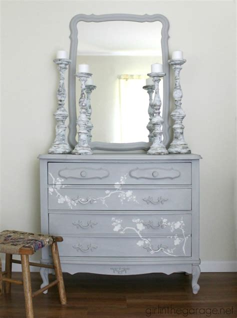chalk paint dresser chalk paint and cherry blossoms a dresser makeover and