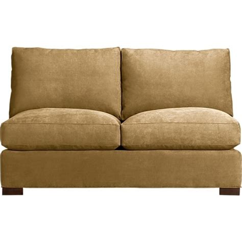 Armless Loveseat Sleeper by Small Armless Sofas Sofa Ideas