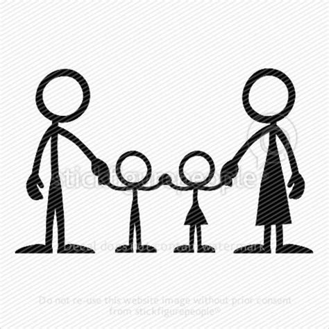 stick figure family series family standing iets vir