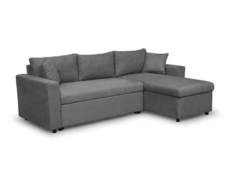 canapé d angle avec coffre canapé d 39 angle réversible et convertible avec coffre gris