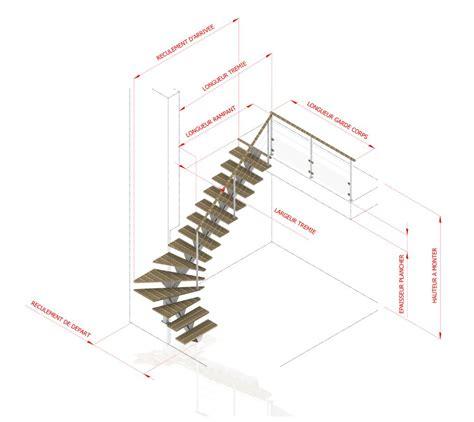 sch 233 ma escaliers int 233 rieurs calcul dimensions
