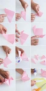 Rose Aus Serviette Drehen : 53 anleitungen f r origami blume so werden sie einzigartige blumen basteln deko feiern ~ Frokenaadalensverden.com Haus und Dekorationen