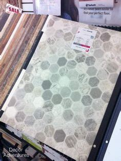 Getting a hex tile look (with vinyl   Vinyls, Hexagons and