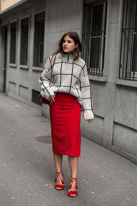 Pencil Skirt gone Cool u203a thefashionfraction.com