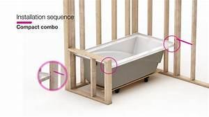 Maax Modulr  U2014 Combo Shower And Bathtub Installation