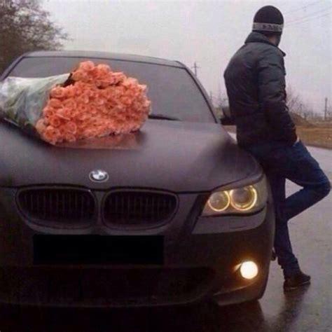 bmw rose romantic luxury car xcitefunnet