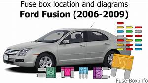 Fuse Box Location And Diagrams  Ford Fusion  2006-2009