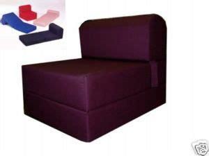 folding foam bed sized 6 thick x 32 wide x 70 studio
